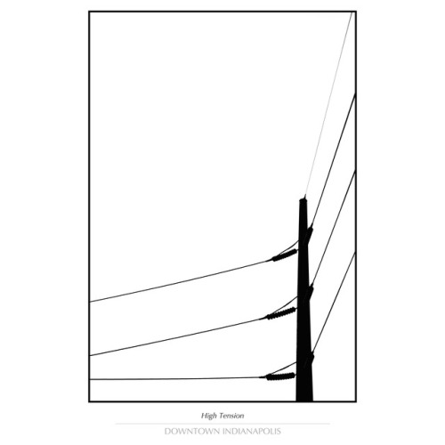 500x500 Silhouette Of Power Lines Tumblr