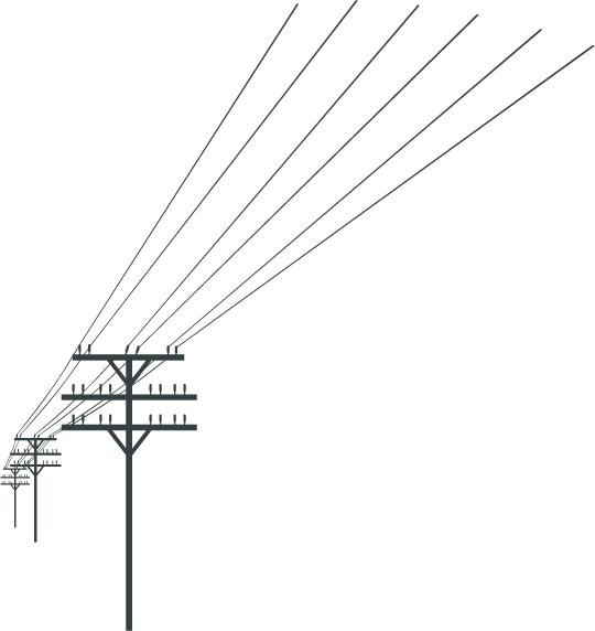 power lines silhouette at getdrawings com