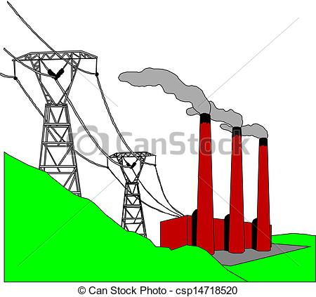 450x423 Electric Line Clipart