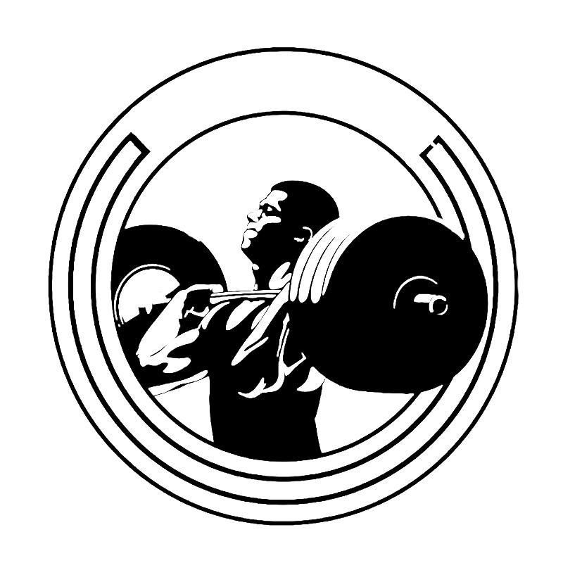 800x800 2018 16.7cm17cm Interesting Gym Powerlifting Sports Weightlifting