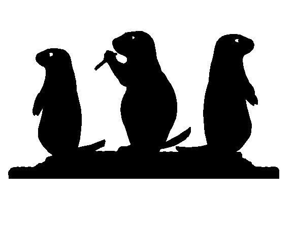 583x445 Prairie Dog Silhouette Clipart Panda