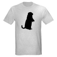 236x236 Prairie Dog (Front Only) Light T Shirt Dog
