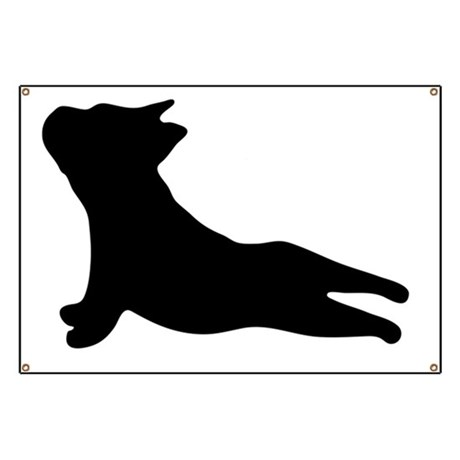 460x460 Dog Silhouette Banners