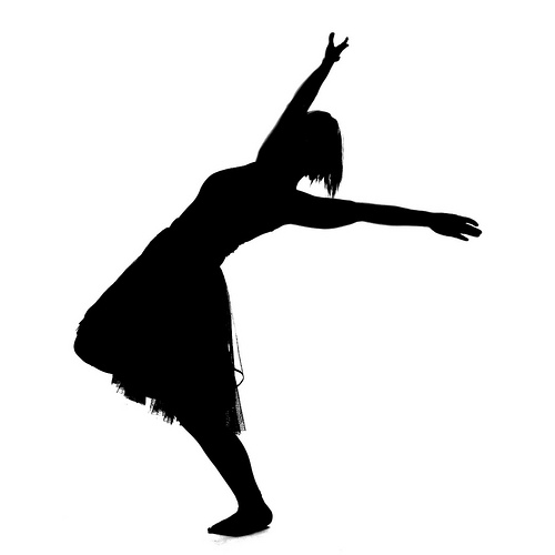 Praise Dance Silhouette At Getdrawings Free For Personal Use