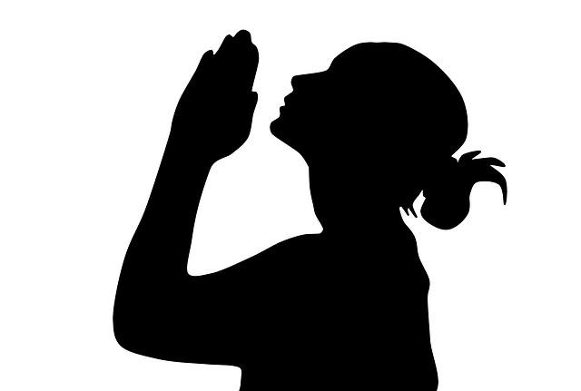 Pray Silhouette