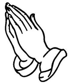 236x278 Praying Hands Vector Image Digi Stamps Line Drawings