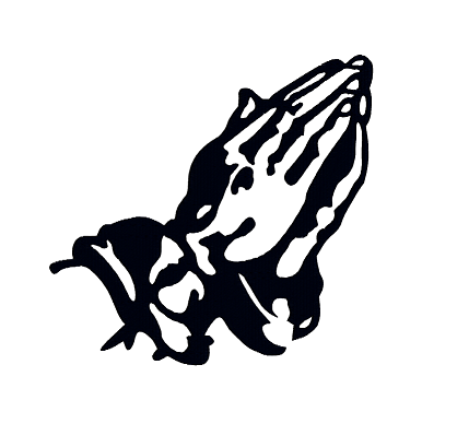 429x409 Praying Hands Silhouette Designs By The Stitch