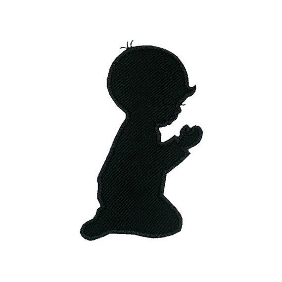 570x570 Praying Boy Applique Machine Embroidery Digital Design Child God