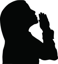 236x259 Women In Prayer Clip Art Silhouette Of A Woman Praying