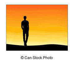 238x194 Lonely Boy Silhouette Vector Stock Photo Images. 81 Lonely Boy