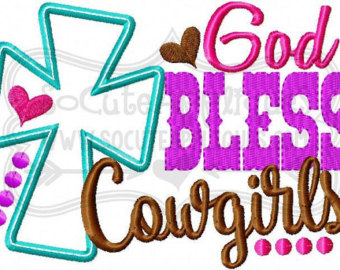 340x270 God Bless Cowgirls Etsy