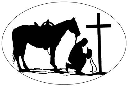 415x279 Rodeo Stencil Patterns Praying Cowboy No Reviews For This