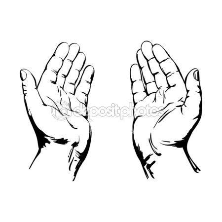 450x450 Afbeeldingsresultaat Voor Silhouette Open Handen Katecheza