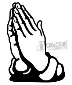 236x278 Praying Hands Vector Image Digi Stamps Line Drawings