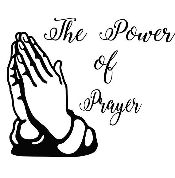 570x581 The Power Of Prayer Svg,dxf,png,eps,jpg,and Pdf Files, Praying