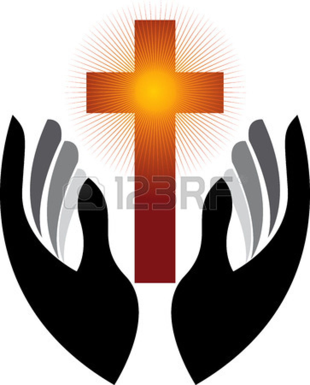 1089x1350 Praying Hands With Color Clipart