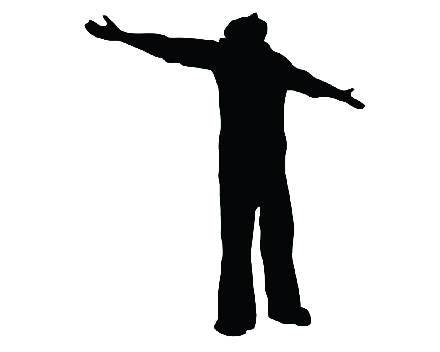 1500x1200 Man Praying Decal Praise And Worship Sticker Man Praying