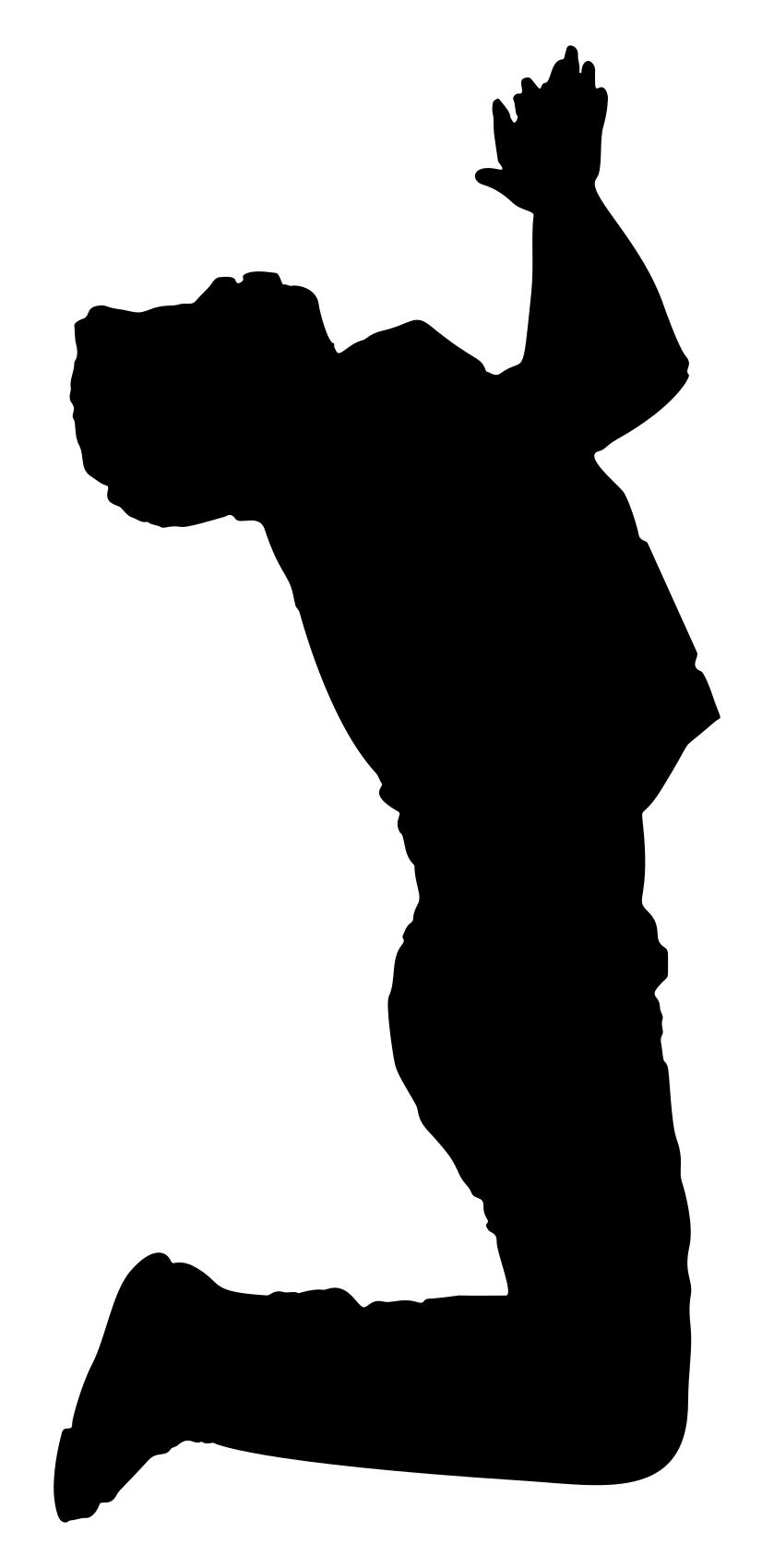 839x1699 Praying Man Silhouette Clipart