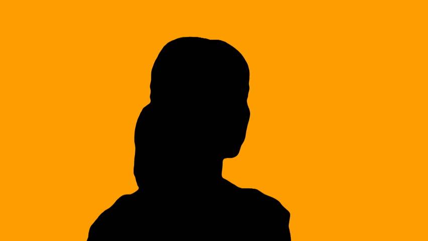 852x480 Woman Prays In Silhouette V4