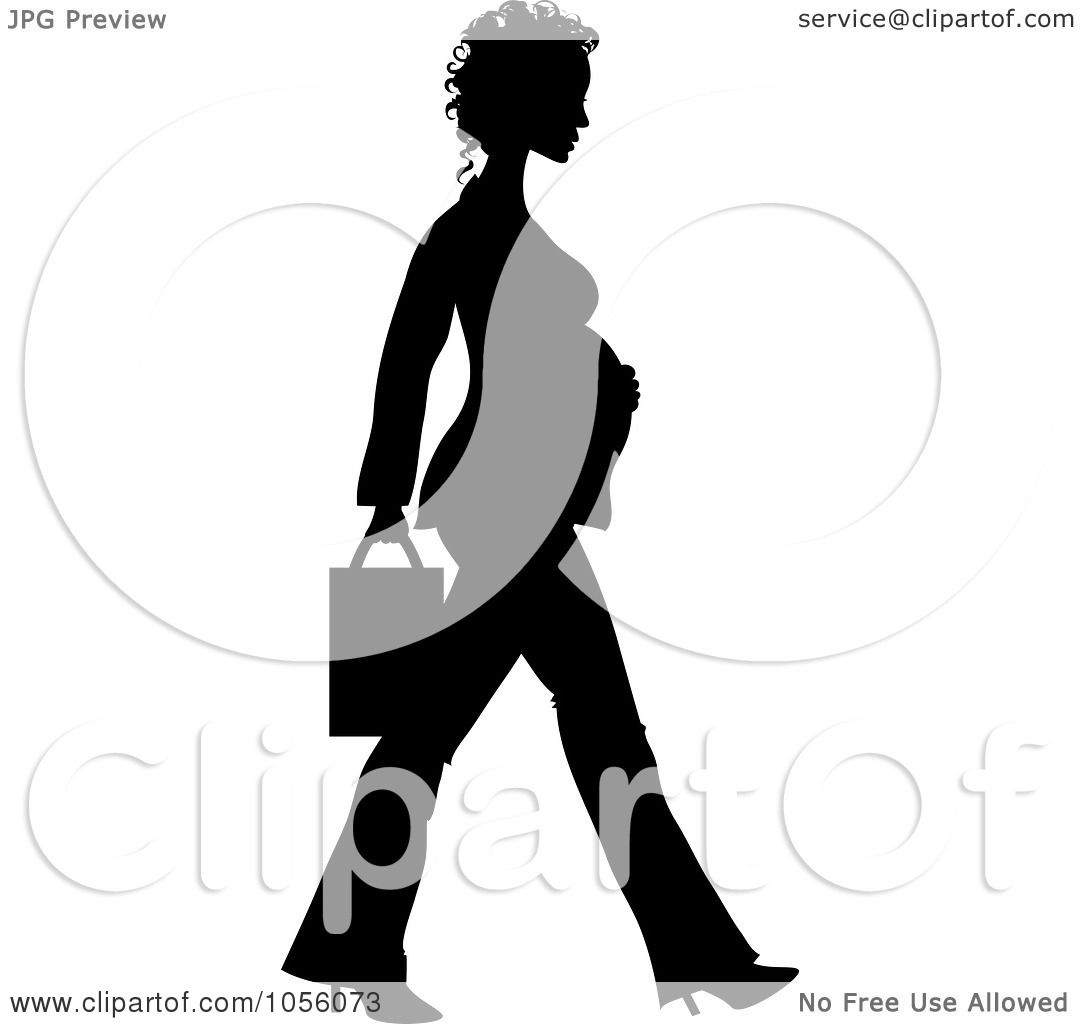 1080x1024 Royalty Free (Rf) Clipart Illustration Black Silhouette