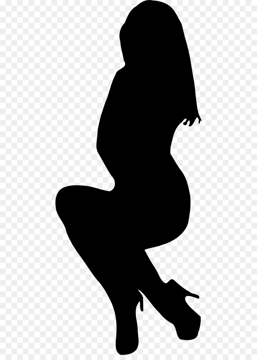 900x1260 Silhouette Pregnancy Clip Art