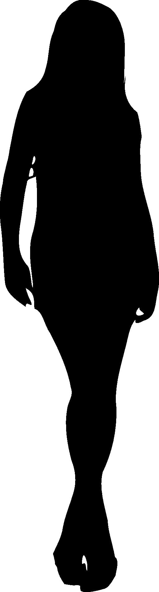 512x1897 Pregnant Woman Silhouette Clip Art