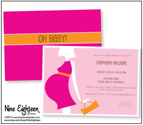 570x500 20 Best Baby Shower Invitations Images On Baby Shower