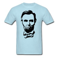 190x190 Abraham Lincoln Silhouette By Designbytimm Spreadshirt