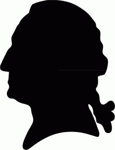 229x300 Silhouettes Of George Washington, Abe Lincoln And