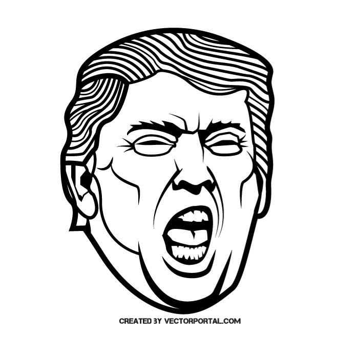 660x660 Free Donald Trump Vectors 8 Downloads Found