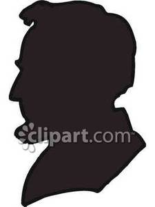225x300 Silhouette Of President Lincoln