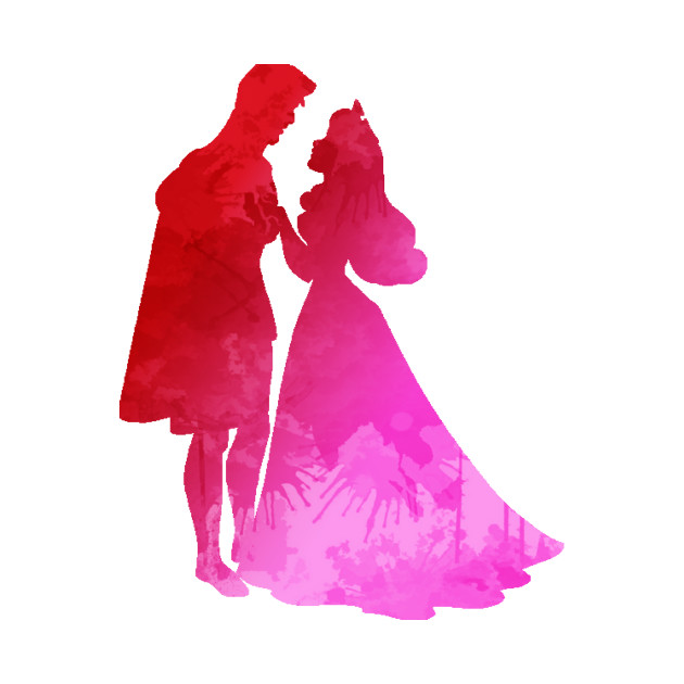 Prince And Princess Silhouette at GetDrawings | Free download