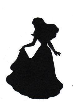 236x345 Sleeping Beauty Silhouette Clip Art