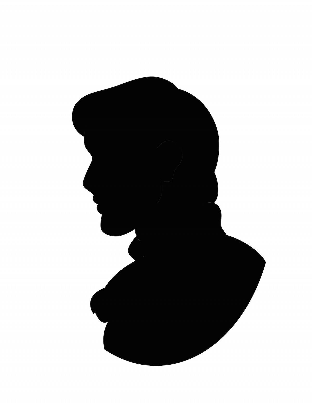 1200x1553 Disney Couple Silhouettes Living Snow White