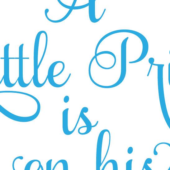 546x546 Little Prince , Little Princess, Crown Design, Baby, Announcement