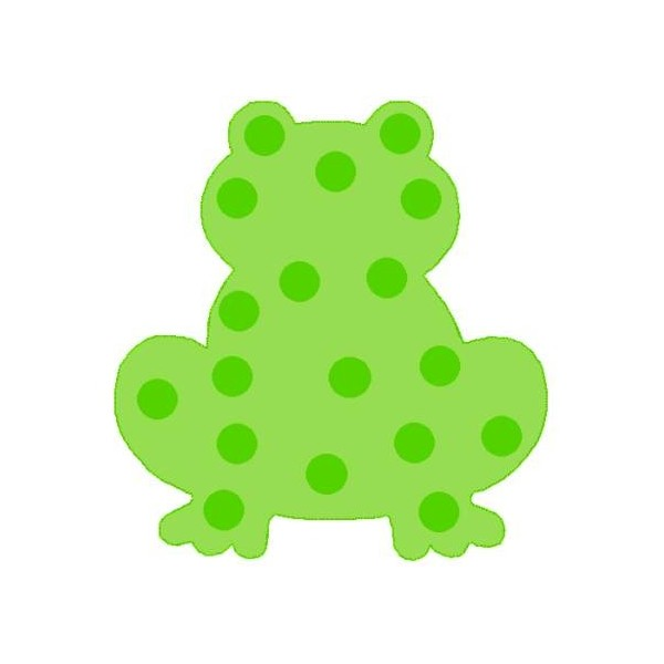 600x600 Free Frog Silhouette, Hanslodge Clip Art Collection