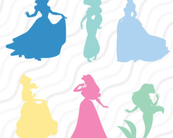 340x270 Princess Carriage Monogram Svg Princess Monogram Svg Cut