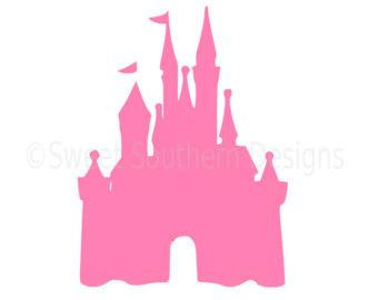 340x270 Castle Svg, Minnie Mouse Svg, Monogram Svg, Princess Svg, Magic