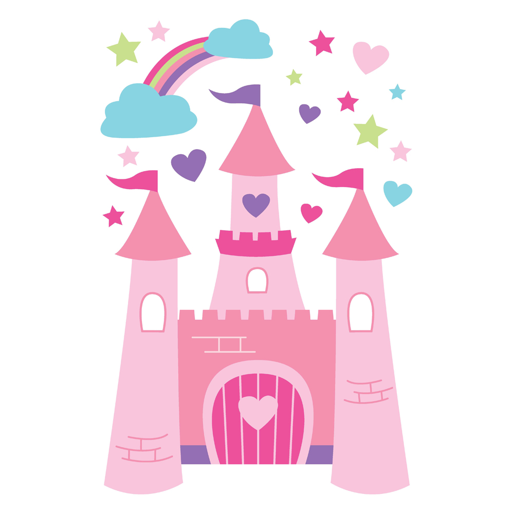 1000x1000 Disney Princess Castle Clipart