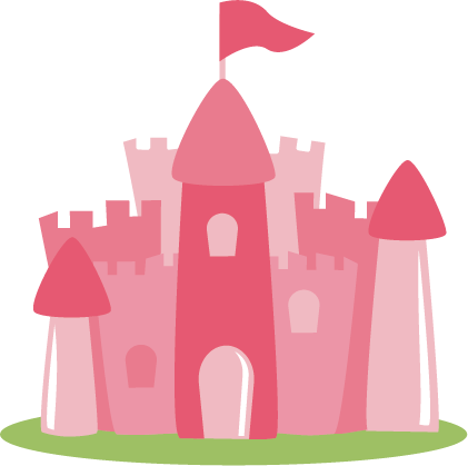 421x419 Princess Castle Svg File For Scrapbooking Princess Castle Svg Cut