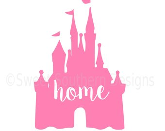 340x270 Princess Castle Svg Instant Download Design For Cricut