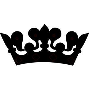 300x300 Photos Black Clipart Princess Crown,
