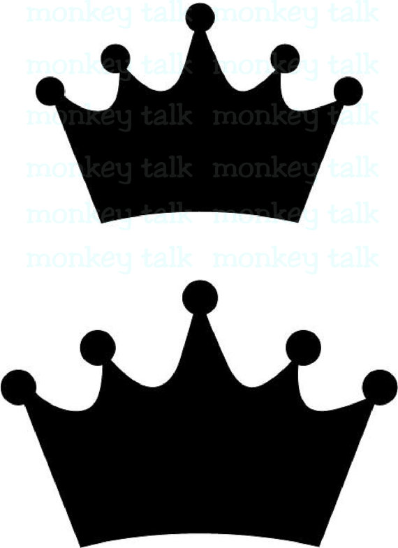 570x785 Princess Crown Instant Download Includes Svg Eps Pdf And Jpg