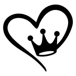 300x300 Princess Love Silhouette Design, Silhouettes And Princess