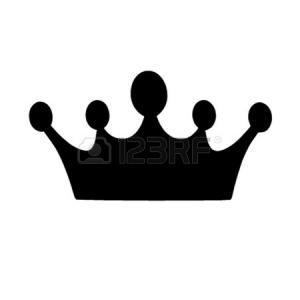 300x300 Photostock Vector Small Princess Crown Icon Simple Illustration