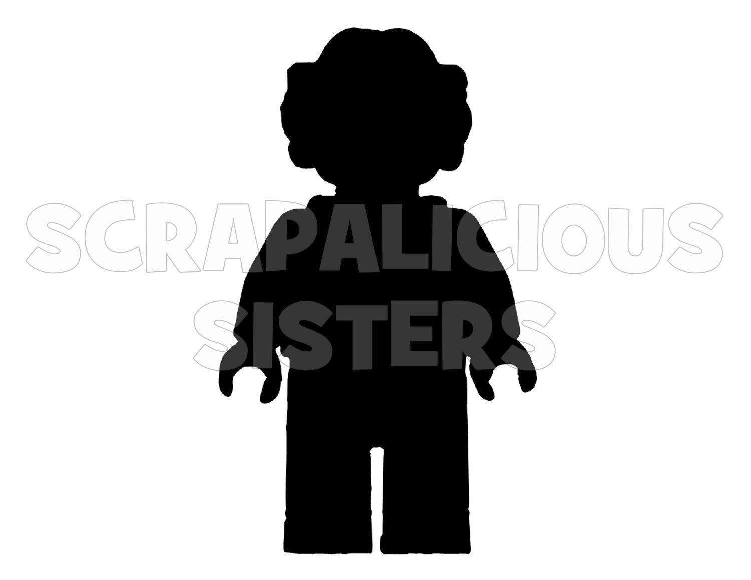 1500x1159 4 Lego Inspired Personalized Princess Leia Iron On Vinyl Decal