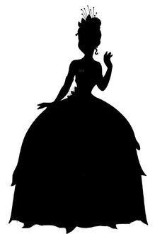 236x330 Disney princess tiana silhouette Princess Party