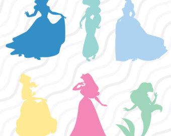 340x270 Disney Princess Svg Etsy