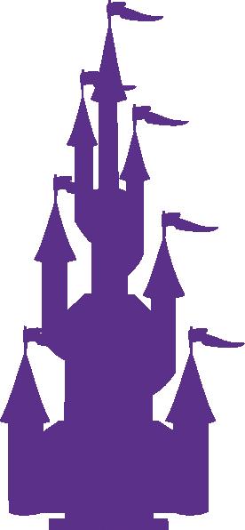 276x596 Princess Castle Silhouette Clipart Collection