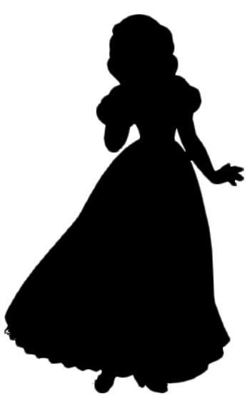 353x559 Silhouette Snow White.jpg Disney Princess Silhouettes